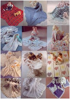 Manta de bebé en crochet paso a paso - Imagui