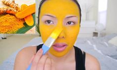 Eliminate Your Acne-Remedies - how-to-use-turmeric-on-your-face-to-eliminate-acne-eczema-inflammation-and-dark-spots-forever - Free Presentation Reveals 1 Unusual Tip to Eliminate Your Acne Forever and Gain Beautiful Clear Skin In Days - Guaranteed! Diy Turmeric Face Mask, Turmeric Face Mask Acne, Turmeric Facial, Shrink Pores, Les Rides, Acne Free, Homemade Face Masks, Acne Remedies, Facial Hair
