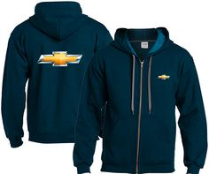 Chevrolet Mens Impala Ss Pullover Hoodie