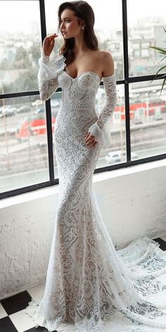 Trendy Wedding Dresses 2018 For Contemporary Bride ❤️ top wedding dresses de. Trendy Wedding Dresses 2018 For Contemporary Bride ❤️ top wedding dresses detached sleeves lace sweetheart julie vino bridal ❤️ Full gallery: weddingdressesgui. Wedding Dresses 2018, Wedding Dress Styles, Bridal Dresses, Dress Wedding, Dress Prom, Dresses Dresses, Dress Lace, Gown Dress, White Dress