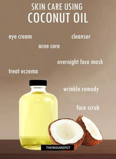 10 BEST SKIN CARE TREATMENTS USING COCONUT OIL