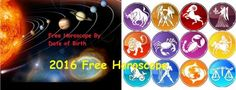 2016 free horoscope