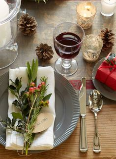 holiday snippets place card Ina Garten