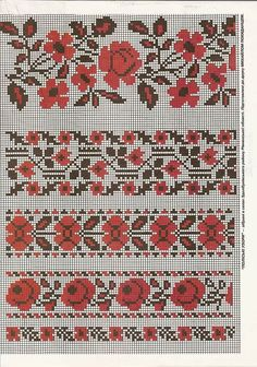 Cross Stitch Rose, Cross Stitch Samplers, Cross Stitch Flowers, Cross Stitching, Cross Stitch Embroidery, Hand Embroidery, Cross Stitch Patterns, Loom Beading, Beading Patterns