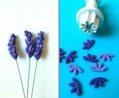 Lavendar Sugarpaste Flowers