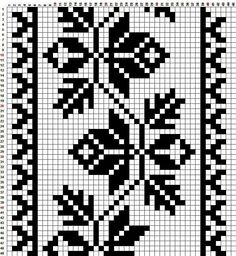 М Cross Stitch Bookmarks, Cross Stitch Borders, Cross Stitch Embroidery, Embroidery Patterns, Filet Crochet Charts, Knitting Charts, Knitting Patterns, Cross Stitch Beginner, Tapestry Crochet Patterns