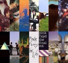 Pink Floyd lp covers