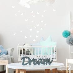 Naklejki na ścianę Motyle - PracowniaMilosz - Dekoracje pokoju dziecięcego Toddler Bed, Kids Rugs, Hani, Etsy, Furniture, Home Decor, Child Bed, Decoration Home, Kid Friendly Rugs
