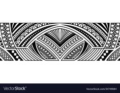 Trible Tattoos, Tribal Art Tattoos, Cool Tattoos, Band Tattoo Designs, Polynesian Tattoo Designs, Tattoo Bracelet, Arm Band Tattoo, Tattos, Adobe Illustrator