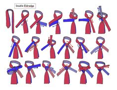 Double Eldredage pg1/2 Tie A Necktie, Necktie Knots, Tie Knot Styles, Mens Fashion, Fashion 2016, Personal Style, My Style, Creative, Neck Ties