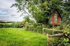 Cabane dans les bois. Cornouailles, Royaume-Uni. | 26 locations Airbnb extraordinaires