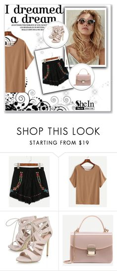 """Shein 6"" by amelaa-16 ❤ liked on Polyvore featuring WithChic, Carvela and shein"