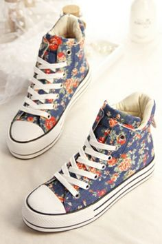 18ccea98151e Street-chic Floral High-tops Nike Shoe Store