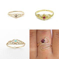 #jewelry #rings #weddingengagement #uniquejewelry #womensjewelry #bluetopazring #bluegoldring #daintyring #bohoring #filigreegoldring #ethnicrings #womenrings #filigreerings #thingoldring #solid14kring #realgoldring #14kgoldring #solid14kring #promisering #engagementring #realgoldring