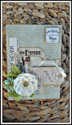 Meg's Garden: Vintage Journal Card