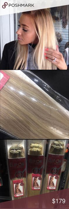 Hair extensions long blonde 22 inch #Clipin Hair Remy yes I have the best hair in the USA Look me up click my profile read my reviews Remy Human 22 inches long Clipin I have all colors if you don't choose I will ship blonde or I can send your color just ask I'm never wrong I sell these to local salons and ship all over the USA Tess Wig Hair #1 hair Supply these extensions will last 5-7 years I also carry 18 inch 1pack is all you need get the long Beautiful hair you cut off or buy 4 your…