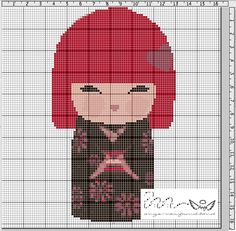 "Ange's Blog: Grille gratuite...Kimmidoll Shika ""Douceur"""
