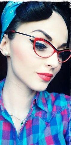 Idda van Munster | A vintage girl living in a modern world blog......love the look!!!