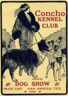 Dog show poster