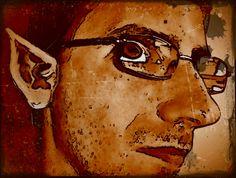 MAKE  ME ELF   from  COMUNICARE  CON LE IMMAGINI . blogspot.com   &   DEVIANTArt  -- Simone il Guardiano