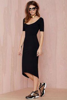 Nasty Gal Vivia Midi Dress - Going Out | Body-Con | Midi + Maxi | Dresses | Party Perfect | Cyber Monday Dresses