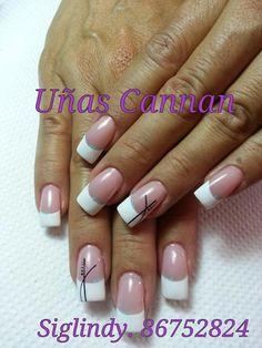 Uñas Simple Nails, Easy Nails, Beauty Makeup, Hair Beauty, Butterfly Nail, So Creative, Nail Decorations, Hair And Nails, Nail Designs
