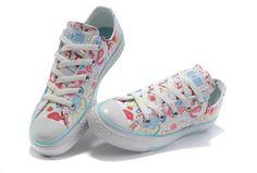 Converse Chuck Taylor All Star True Love Graffiti Low Top White Canvas Shoes