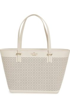 kate spade new york 'cedar street - mini harmony' perforated tote available at #Nordstrom
