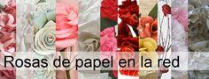 rosas de papel 12
