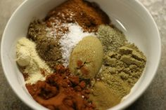 5 Different Spice Rubs