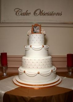 Golden Wedding Anniversary cake!