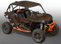 RZR 1000 Graphics - Invision Plaid - Black Background, Orange Design: http://www.invisionartworks.com/side-x-side-graphics/rzr-1000-graphics/rzr-1000-graphics.html