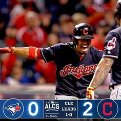 Kluber's grit, @lindor12bc's power and Miller's filth give @indians 1-0 #ALCS lead.