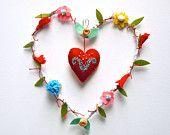 Etsy Gift Guide: Christmas Keepsakes for Kids Christmas Wreaths, Christmas Crafts, Winter Wreaths, Spring Wreaths, Summer Wreath, Christmas Ornaments, Diy And Crafts, Crafts For Kids, Crochet Video