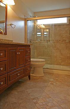 Bathroom Tile Ideas Traditional Inspirational Small Bathroom Ideas Traditional Bathroom Dc Metro by Bathroom Tile Shower Shelves Cozy Bathroom, Bathroom Wall Decor, Bathroom Ideas, Bathroom Remodeling, Handicap Bathroom, Bathroom Makeovers, Bath Ideas, Remodeling Ideas, Window In Shower