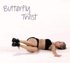 The Butterfly Twist! Does some AMAZING stuff for your obliques!