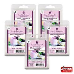 5-Pack Scentsationals Black Raspberry Wax Cubes Melts Tarts For Warmers | Home & Garden, Home Décor, Home Fragrances | eBay!