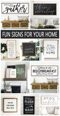 Fun Wood Signs for your Home Fun Wood Signs for your Home! Love the look of homemade wood signs as part of my home decor. The post Fun Wood Signs for your Home appeared first on Wood Diy. Homemade Wood Signs, Diy Wood Signs, Eat Pray Love, Decorating Your Home, Diy Home Decor, Room Decor, Decorating Ideas, Decor Crafts, Wood Crafts