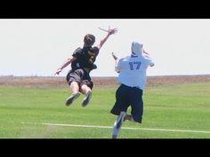 Incredible Ultimate Frisbee Play