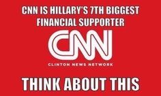 CNN - HILLARY'S 7TH BIGGEST FINANCIAL SUPPORTER! THINK ABOUT THIS!
