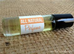 Make your own all-natural perfume with only oil and essential oils. Smells so much better than store-bought perfume!