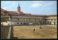https://flic.kr/p/RXbkDY | Plaza de España, Tembleque (Toledo) | Título: Ruta del Quijote 107 : Plaza de España, Tembleque (Toledo) Publicación: Alcázar de San Juan : I.G. Vda. de M. Mata, [1967]  Descripción física: 1 fot. : col. (tarjeta postal) ; 10x15cm. Signatura: POS 2549