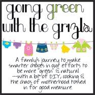 Green Moms Network Featured Member: Kassie from Going Green with the Grizls