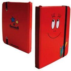 Notitieboek Barbapapa rood