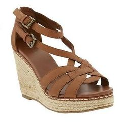 Braided Espadrille Wedges $25.00 Comes in black, grey, or brown.