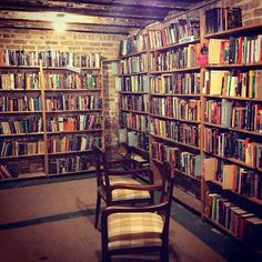 The Basement, Myopic Books - Chicago, Illinois Thanks to Instagram user and friend of the CPL Scott Sandalow for sending us this great photo of Myopic Books in Chicago's Wicker Park!