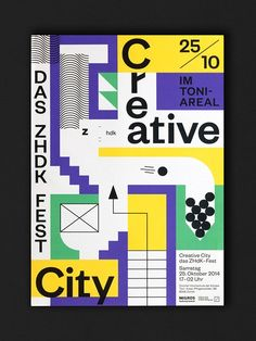 The wonderful and playful typography of Lukas Ackermann Book Design, Cover Design, Layout Design, Print Design, Design Graphique, Art Graphique, Posters Conception Graphique, Typography Layout, Graphic Design Posters