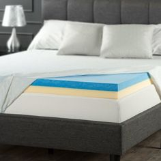 Shop a great selection of Zinus 4 Inch Gel Memory Foam Mattress Topper, Twin. Find new offer and Similar products for Zinus 4 Inch Gel Memory Foam Mattress Topper, Twin.