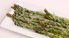 Parmesan Roasted Asparagus Recipe - Laura Vitale - Laura in the Kitchen ...