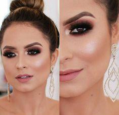 Pin by Karla Albanez on Make up in 2019 Day Makeup, Prom Makeup, Makeup Goals, Bridal Makeup, Wedding Makeup, Beauty Makeup, Drugstore Beauty, Perfect Makeup, Gorgeous Makeup